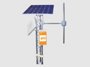 Solar FM transmitter