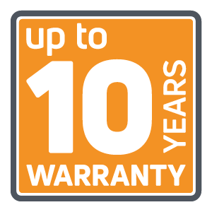 Ecreso up to 10 year warranty