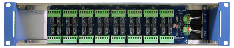AUDEMAT IO PANEL (32/32/24) front