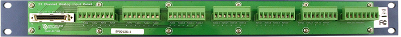 AUDEMAT ANALOG PANEL (24 inputs) rear