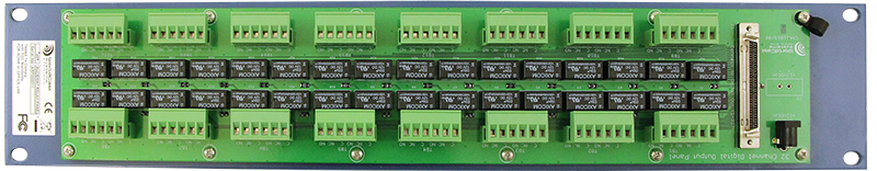 AUDEMAT RELAY PANEL (32 inputs) rear
