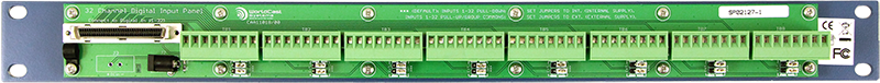 AUDEMAT STATUS PANEL (32 inputs) rear