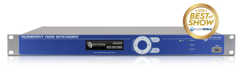 AUDEMAT RDS ENCODER best Of Show 2018