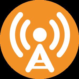FM Solar - transmisor y las antenas de FM