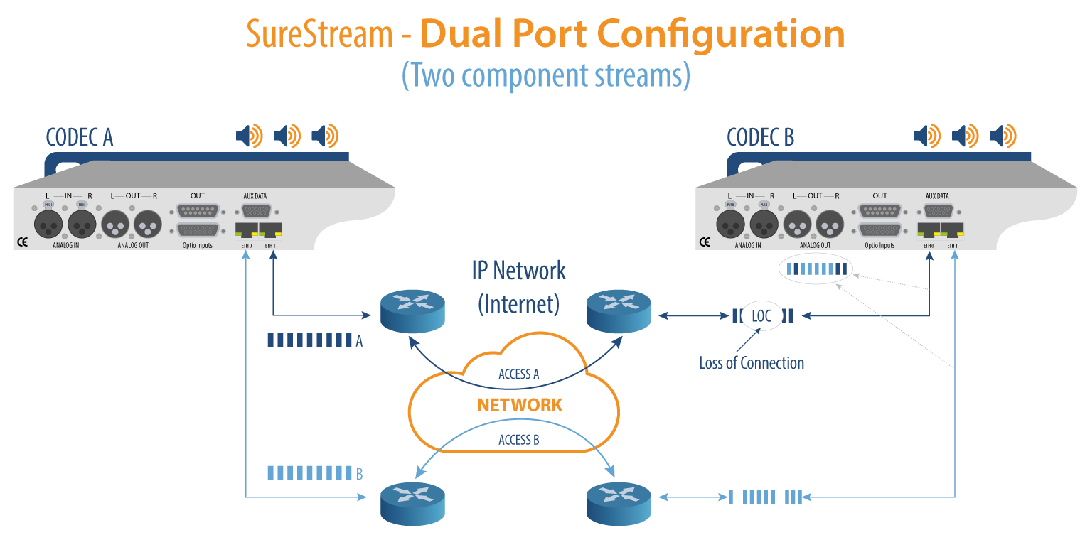 SureStream Dual Port Configuration