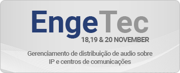 Find out more about our expert IP audio solutions at EngeTec Brazil