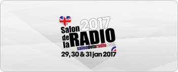 We are heading to Paris for Salon de la Radio 2017
