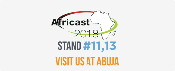 Visit us at AFRICAST 2018
