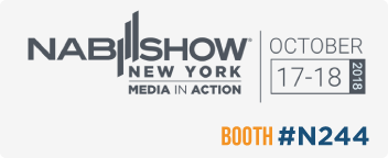 LET'S MEET AT NABSHOW New York 2018