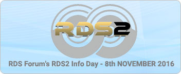 RDS2 Encoder Prototype Debuted at RDS2 Info Day in Paris
