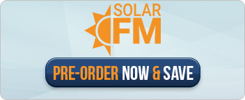 Pre-Order the award-winning SOLAR FM RETRANSMITTER & Save $1500 / €1500