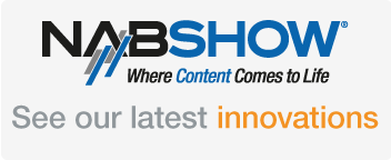 Join us at NAB SHOW Las Vegas